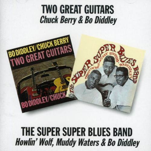 Two Great Guitars /  the Super Super Blues Band [Import]