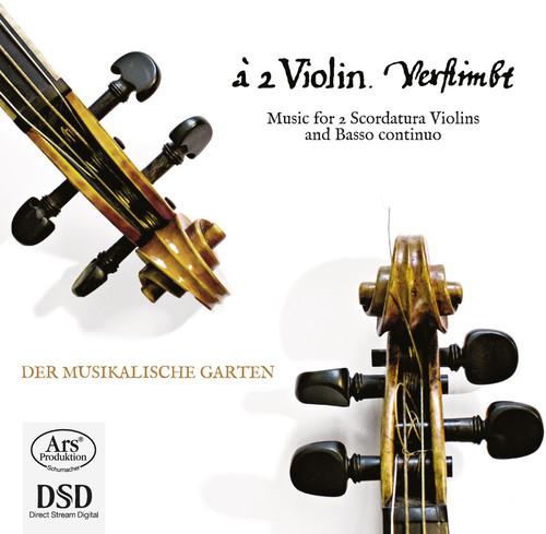 Music for 2 Scordatura Violins & Basso Continuo