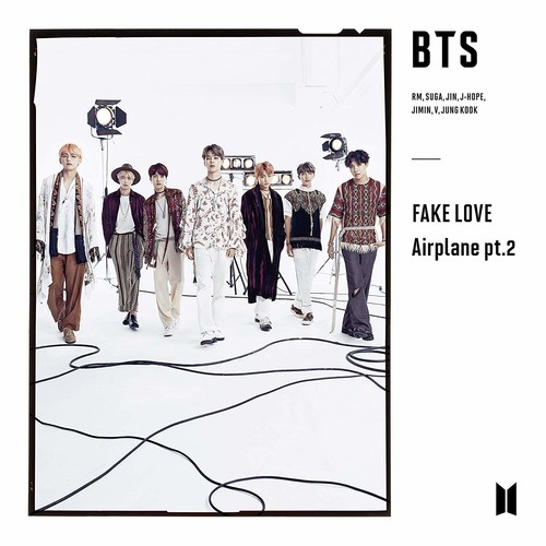 BTS - Bird / Fake Love / Airplane pt.2 [Import Limited Edition]