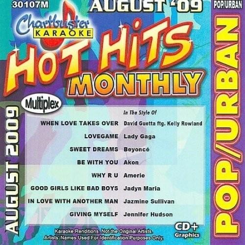 Karaoke: Pop/ Urban - August 2009