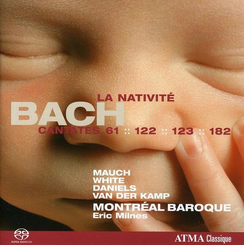 Cantatas la Nativite BWV 61 122 123 & 182