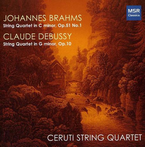 Brahms / Debussy / Ceruti String Quartet - Ceruti String Quartet Plays Brahms & Debussy