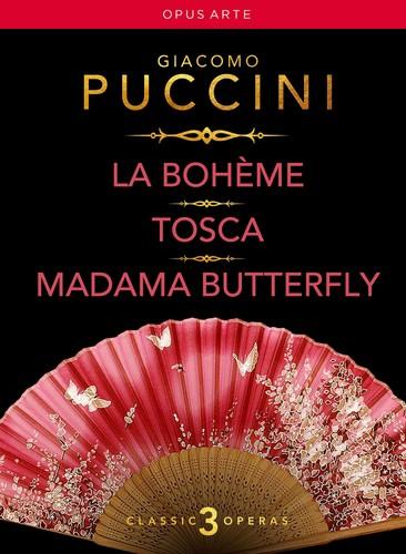 La Boheme Tosca & Madama Butterfly