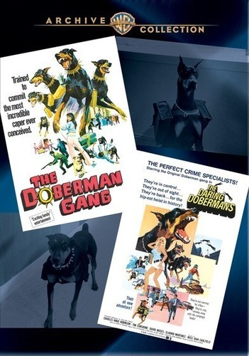 The Doberman Gang /  The Daring Dobermans