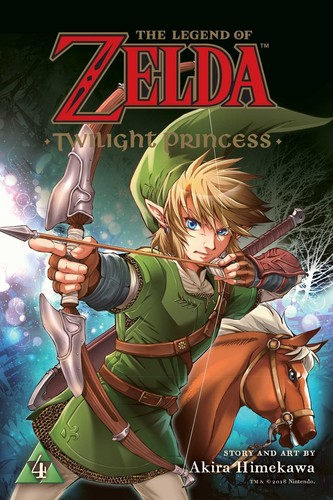 - The Legend of Zelda: Twilight Princess, Vol. 4