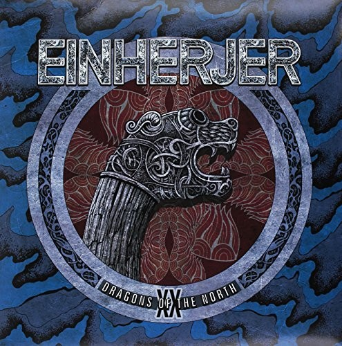 Einherjer - Dragons Of The North (Blue Vinyl) (Blue) [Colored Vinyl]