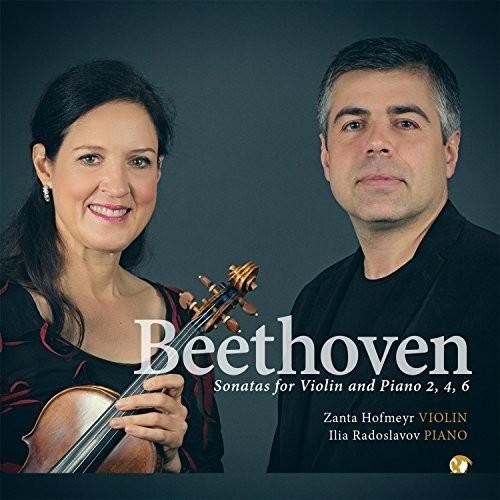 Beethoven: Sonatas for Violin & Piano, 2, 4, 6