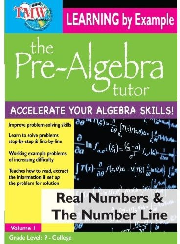 Real Numbers & the Number Line