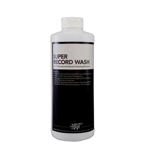 - Super Record Wash 32Oz