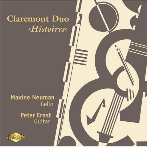 Claremont Duo Histoires Duos for Cello & Guitar
