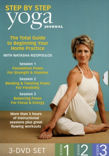 Yoga Journal's: Beginning Yoga Step by Step 1-3