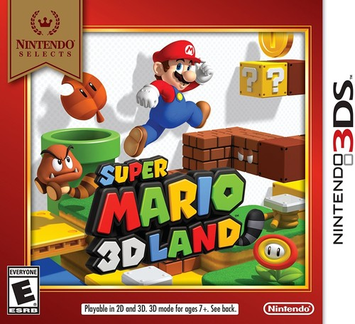 3Ds Super Mario 3D Land - Nintendo Selects Edition - Super Mario 3d Land - Nintendo Selects Edition