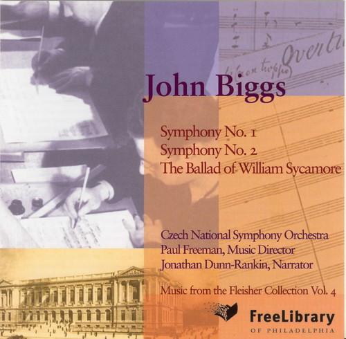 Symphony 1 & 2 /  Ballad of William Sycamore