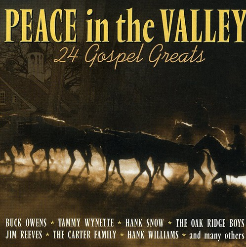 Peace in Valley:24 Country Gospel /  Various [Import]