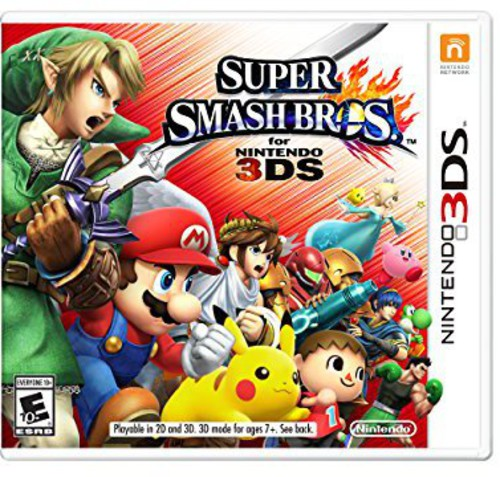 3Ds Super Smash Bros - Super Smash Bros