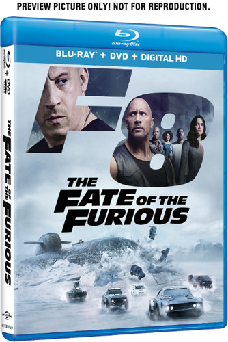 Fate of the Furious [Blu-ray/DVD]