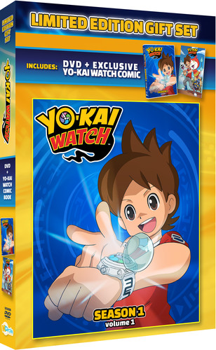Yo-kai Watch: Season 1 Volume 1 Gift Set with Exclusive Comic Book