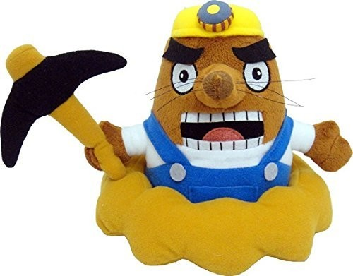 "- Little Buddy Animal Crossing Mr. Resetti 7"" Plush"