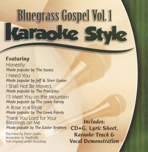 Karaoke Style: Bluegrass Gospel, Vol. 1