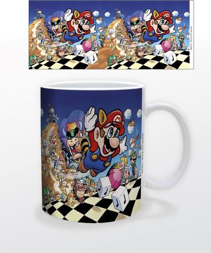Super Mario Mario 3 11 Oz Mug - Super Mario Mario 3 11 oz mug