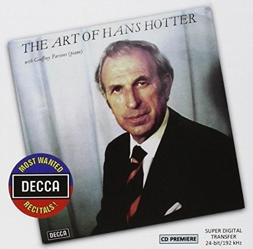 Most Wanted Recitals: The Art of Hans Hotter