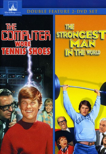 The Computer Wore Tennis Shoes /  The Strongest Man in the World