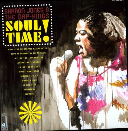 Sharon Jones & The Dap-Kings - Soul Time! [Limited Edition Vinyl]