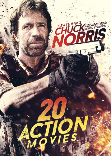 20-Film Action Featuring Chuck Norris