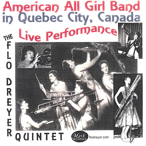American All Girl Band in Quebec City Canada