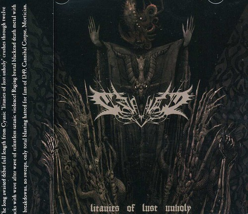 Litanies of Lust Unholy [Import]