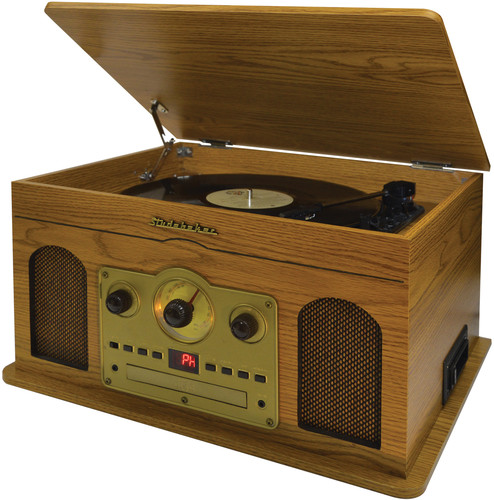 Studebaker 5 in 1 Music System -Turntable Am/Fm Ra - Studebaker 5 in1 Music System SB6080