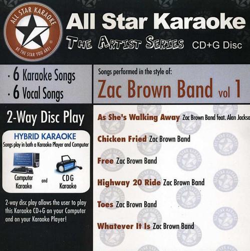 Karaoke: Zac Brown Band, Vol. 1