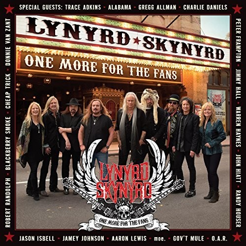 Lynyrd Skynyrd - One More For The Fans [2CD + DVD]