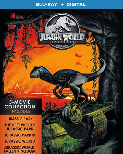Jurassic Park [Movie] - Jurassic World: 5-Movie Collection