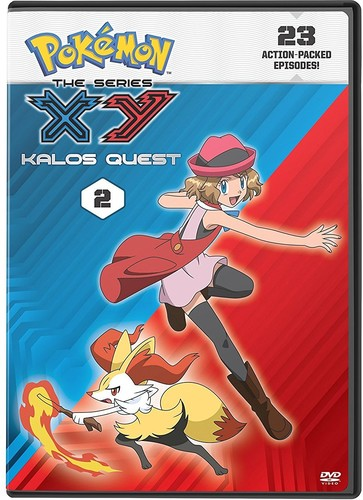 Pokemon the Series: Xy Kalos Quest Set 2