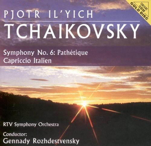 Tchaikovsky: Sym No 6 /  Capriccio Italien