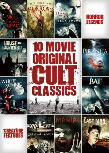 10-Film Horror Cult Classics Collection