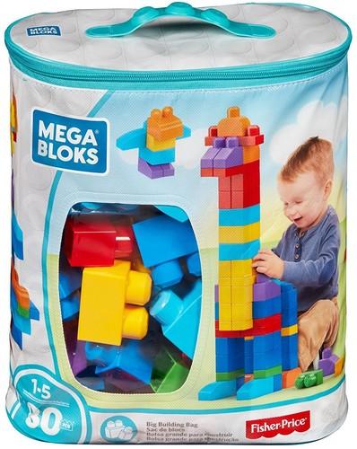 MEGA BUILD BASICS BIG BUILD BAG CLASSIC 80 PIECES
