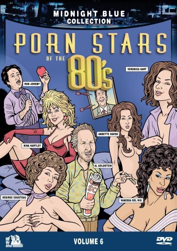 Midnight Blue: Volume 6: Porn Stars of the 80's