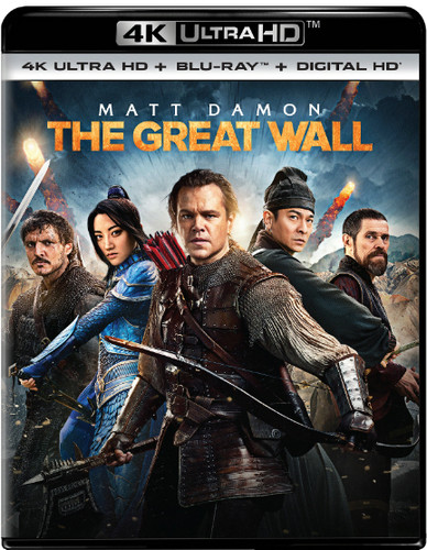 Great Wall [4K Ultra HD Blu-ray/Blu-ray]
