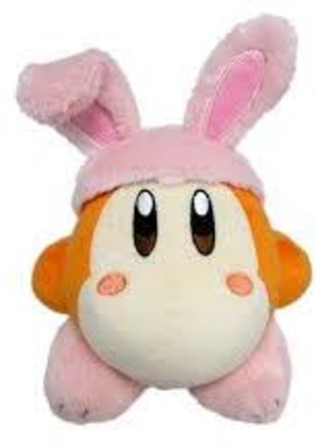 "- Little Buddy Kirby Adventure Waddle Dee Rabbit 6"" Plush"