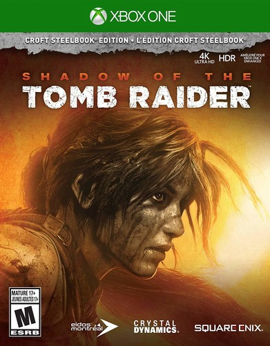 Xb1 Shadow of the Tomb Raider - Croft Steelbook Ed - Shadow of the Tomb Raider - Croft Steelbook Edition for Xbox One