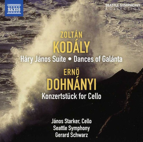 Seattle Symphony - Harry Janos Suite / Konzertstuck For Cello & Orch