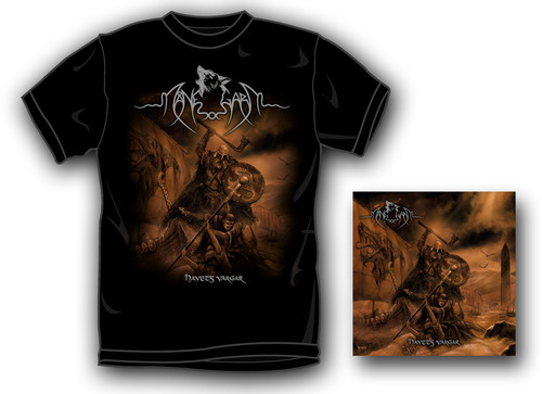 Manegarm - Havets Vargar (T-Shirt M) (Med) (Wtsh) [Remastered]
