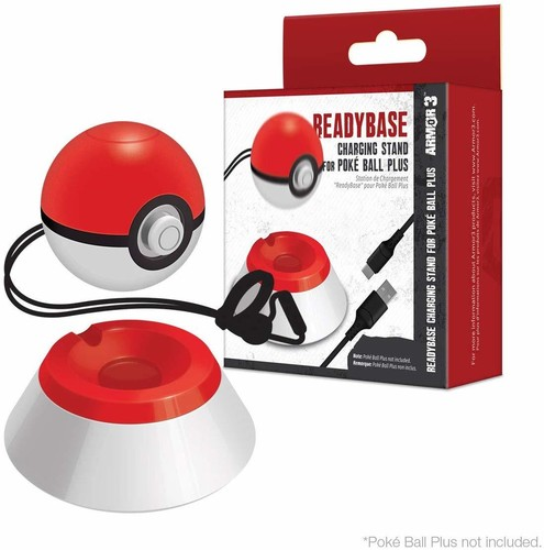 - Armor3 ReadyBase Charging Stand for Poke Ball Plus for Nintendo Switch