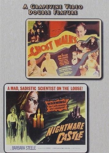 Ghost Walks (1934) /  Nightmare Castle (1964)