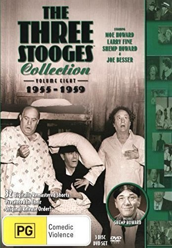 Three Stooges: Volume 8 - 1955-1959 [Import]