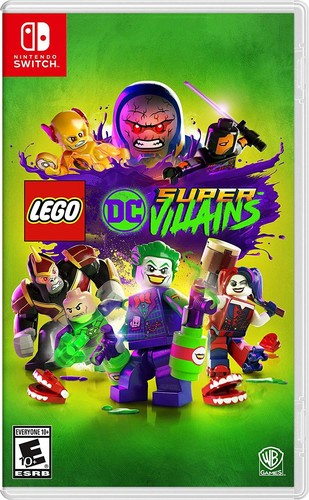 - LEGO DC Supervillains for Nintendo Switch