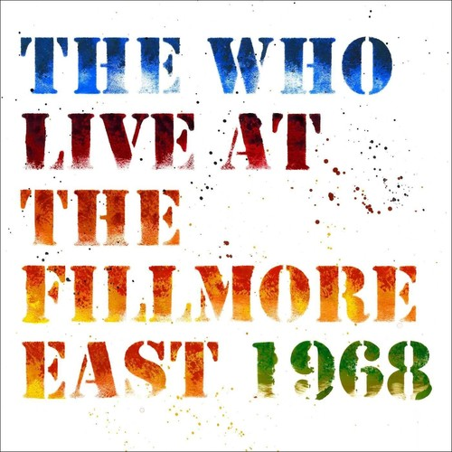 The Who - Live At The Fillmore East [LP]