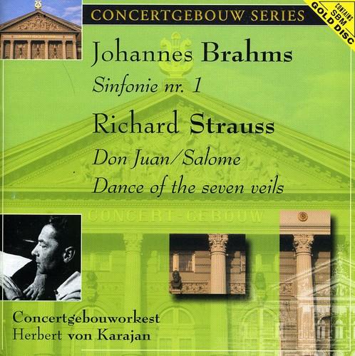 Brahms: Sym No 1 /  Strauss: Don Juan